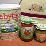 Alimentación para bebés ecológica, alternativa sana.