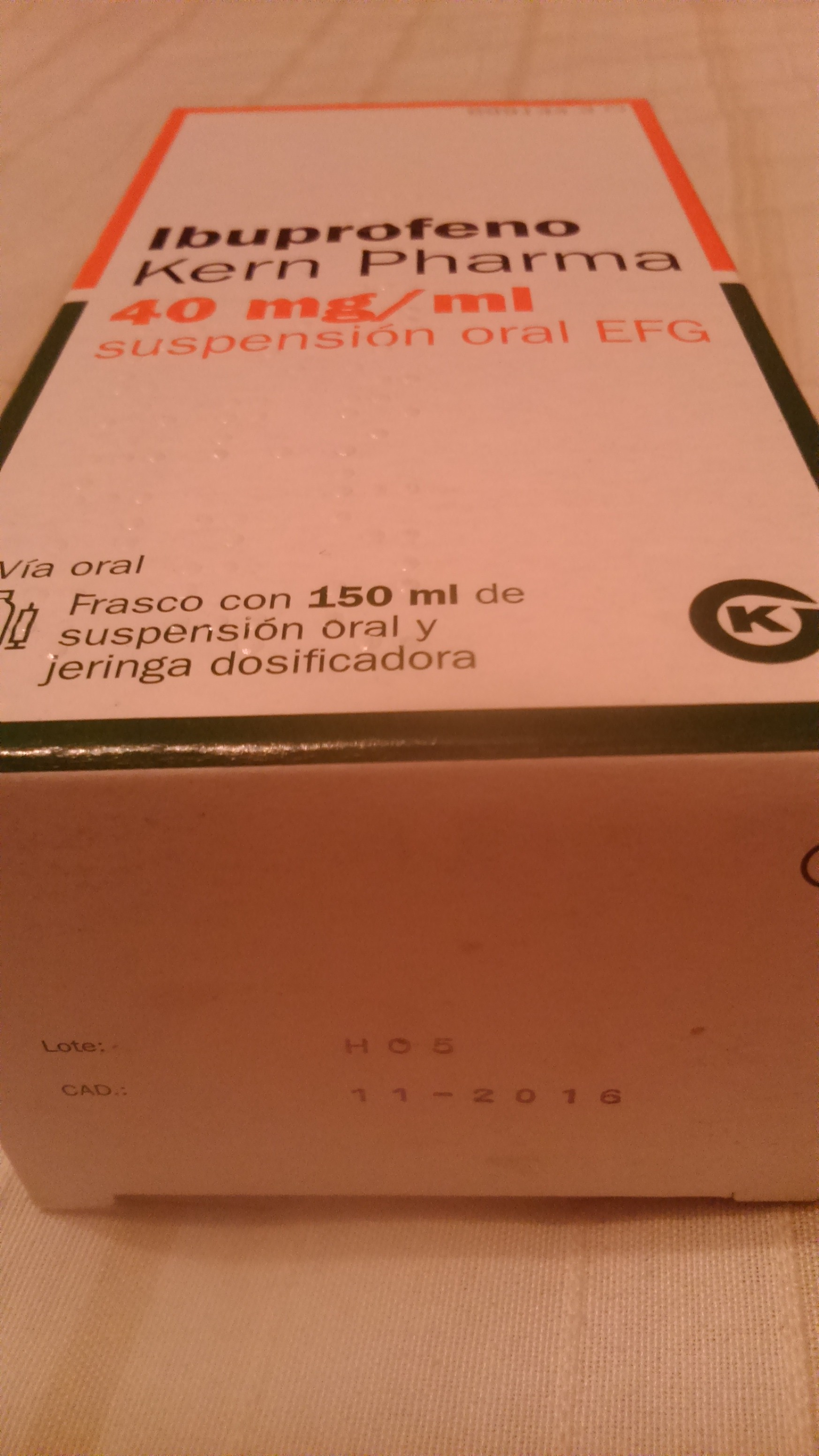 ibuprofeno Kern Pharma