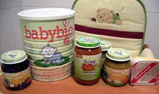 alimentos bebés ecológicos